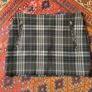 Aritzia Wilfred Clairaut Plaid Mini Skirt